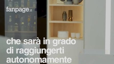 Ku Fridge, il frigo robot di Panasonic