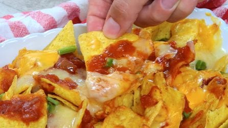 Baked Nachos: delicious recipe ready in a few minutes