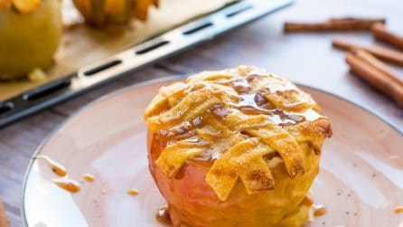 Baked apple: a tasty idea!