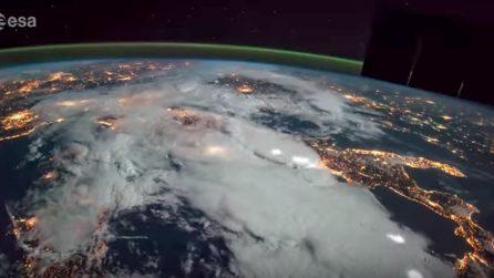 Tempesta di fulmini sull'Italia: le spettacolari immagini dallo Spazio
