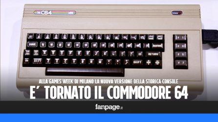 """Commodore 64, la storica console torna in versione mini: """"Tutti amano i videogiochi di una volta"""""""