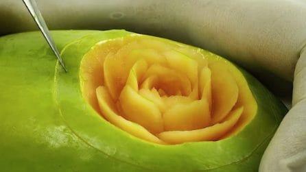 Intaglia la frutta e crea qualcosa di mai visto prima