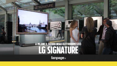 Sempre più intuitivi e belli: ecco i nuovi elettrodomestici LG Signature