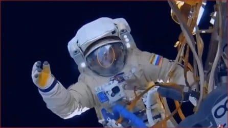 Misteriosi sommozzatori e bolle nella Stazione spaziale