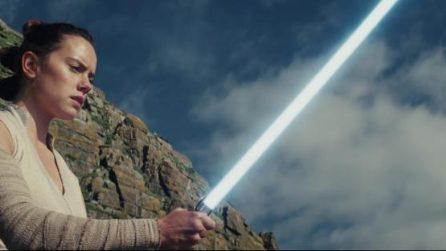 Star Wars: Gli Ultimi Jedi, il trailer esteso in italiano