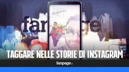 Taggare nelle storie di Instagram