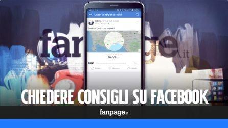 Consigli Facebook: a cosa serve e come si usa questa nuova funzione