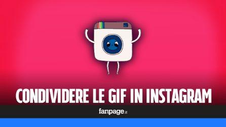 Come pubblicare le GIF in Instagram
