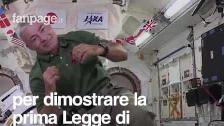 Il fidget spinner nello spazio, nella Stazione spaziale internazionale
