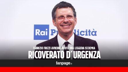 Fabrizio Frizzi colpito da malore: ricoverato d'urgenza in ospedale