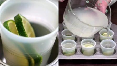"""Taglia il lime a fettine e lo mette nei bicchieri: una prelibatezza """"alternativa"""" e allegra"""