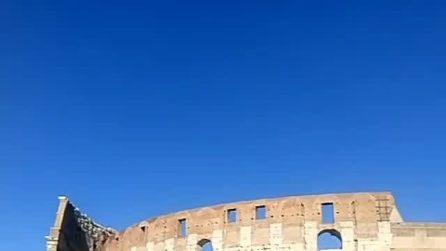 L'arco di Costantino e il Colosseo: due meraviglie di Roma