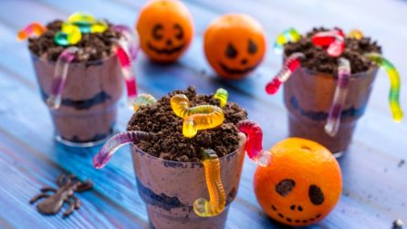 Scary Halloween Dessert: the result is amazing!