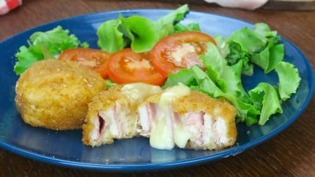 Girelle di pollo: la ricetta facilissima, veloce e gustosa!