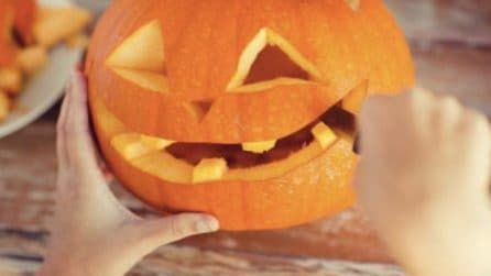 How to carve pumpkin: the best halloween idea!