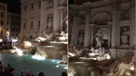 La spettacolarità della Fontana di Trevi