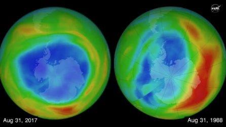 Nasa, il buco dell'ozono mai così piccolo dal 1988