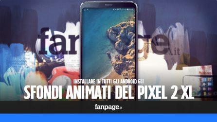 Come installare gli sfondi animati HD del Pixel 2 in tutti gli Android