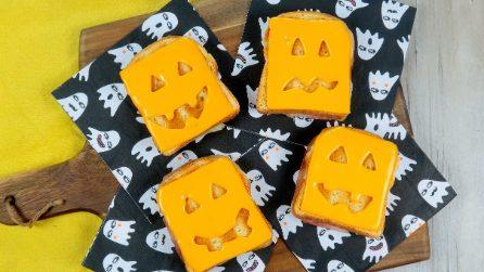 Toast di Halloween: l'idea veloce e divertente