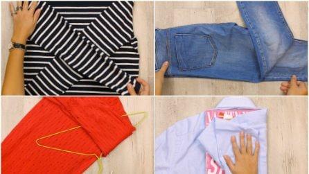 Come piegare gli indumenti velocemente