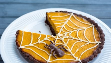 Crostata di zucca: l'idea gustosa per Halloween!