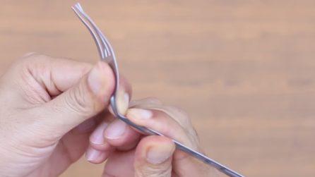 Come riciclare delle vecchie forchette e creare un portacandele