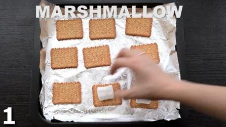 Biscotti e marshmallow: una veloce e dolcissima ricetta