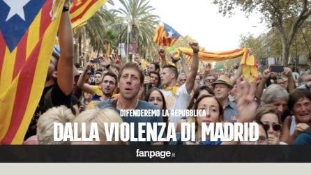"""Dopo la dichiarazione d'indipendenza la Catalogna aspetta la reazione di Madrid: """"Pronti a difenderci"""""""