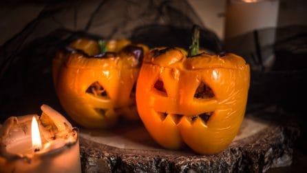 Peperoni ripieni: l'idea gustosa e originale per Halloween!