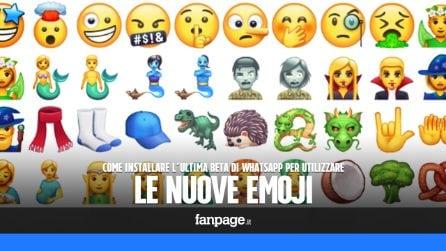 Installare la beta di WhatsApp con le nuove emoji