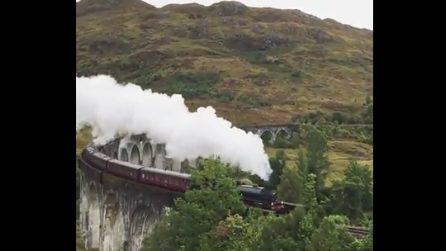 Un espresso per Hogwarts: il treno di Harry Potter che attraversa le Highlands scozzesi