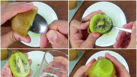 3 modi per pulire un kiwi