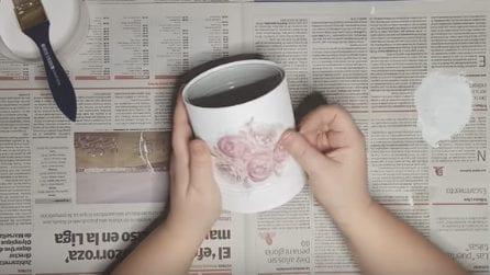 Come trasformare un barattolo di latta in maniera creativa