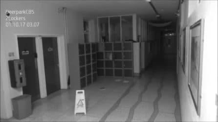 Fantasma in una scuola irlandese?