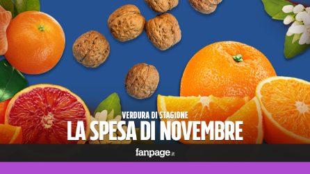La frutta di stagione: cosa comprare a novembre