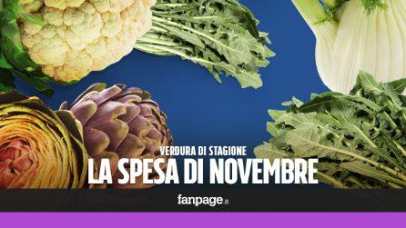 La verdura di stagione: cosa comprare a novembre