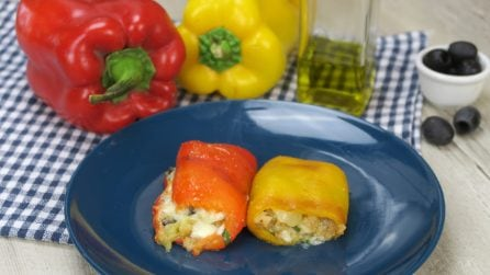 Bell pepper roll-ups: it just takes a few ingredients to prepare this delicious recipe!