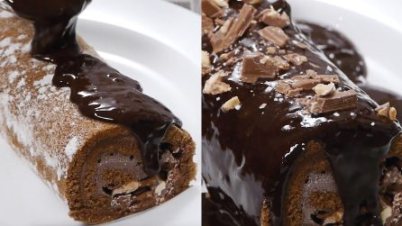 Rotolo al cioccolato: la ricetta super golosa