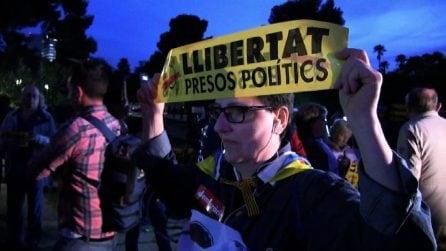 Catalogna, proteste contro arresto di 8 membri governo regionale