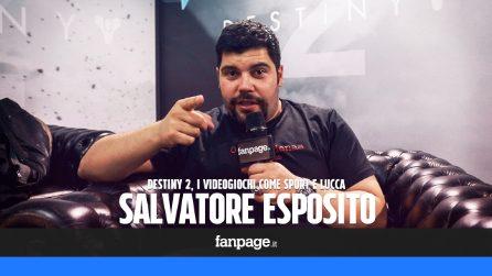 """Salvatore Esposito: """"Gareggerei per l'Italia alle olimpiadi dei videogiochi"""""""