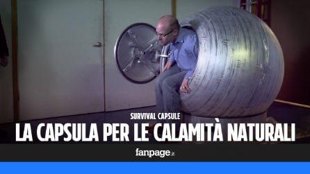 Survival Capsule, la capsula salva-vita