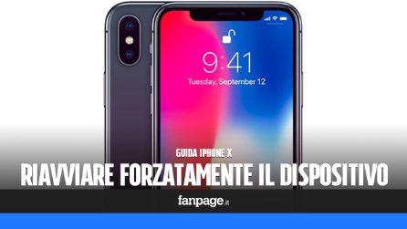 iPhone X: come eseguire un riavvio forzato