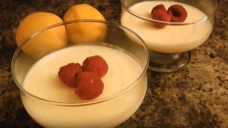 Tre soli ingredienti per preparare un ottimo dessert