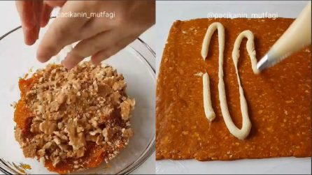 Unisce i biscotti tritati alla zucca: un dolce alternativo e buonissimo