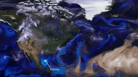 Fumo, polveri e uragani: i supercomputer Nasa mostrano cosa succede nell'atmosfera
