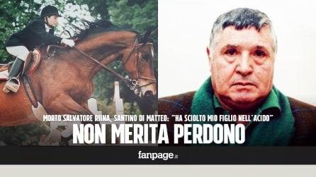 """Morto Totò Riina, parla Santino Di Matteo: """"Ha sciolto mio figlio nell'acido, non merita perdono"""""""