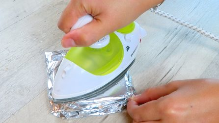 How to make a toast with the iron: a special trick