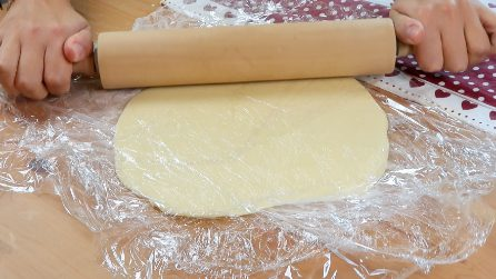Wrap the dough in the wrap: you didn't know this trick