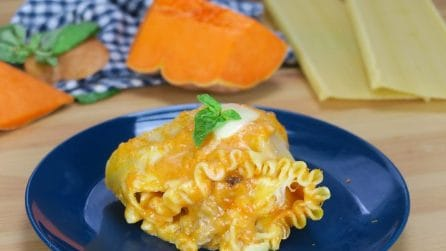 Ciambella di lasagna alla zucca: cremosa e saporita, vi conquisterà!