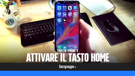 Se ti manca il tasto Home in iPhone X, con questo trucco potrai riattivarlo